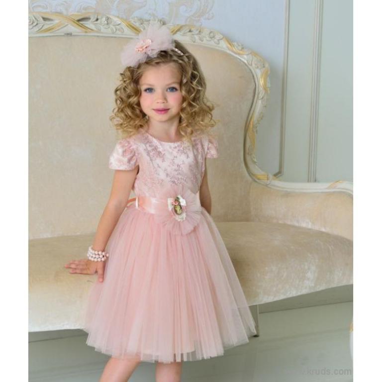 Плаття Персик (МД5443) 1-2  3-4  7-8 років купити в Украині 1 100.00грн.  43a7e769b402b