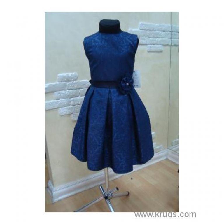 Плаття синє (МД5210) 5-6  7-8  9-10 років купити в Украині 1 100.00грн.  62b9ec94f587c
