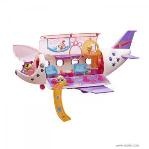 Фото Самолет для зверюшек - Игровой набор Литл Пет Шоп