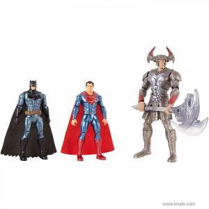 """Фото Бэтмен, Супермен и Степной Волк - коллекционный набор """"Лига Справедливости"""" DC Comics"""