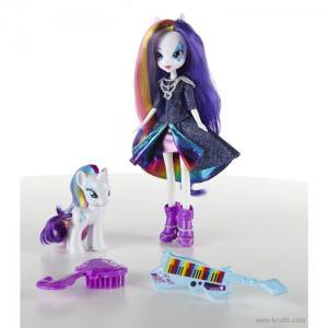 Фото Кукла Рарити и пони серия Rainbow Rocks - Девушки эквестрии