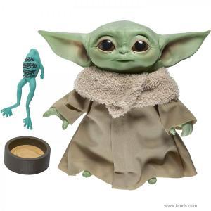 Фото Малыш Грогу (малыш Йода) / Звёздные войны: Мандалорец - Электронная плюшевая игрушка 19 см
