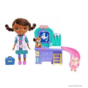 """Фото Кукла Доктор Плюшева """"Ветеринарная клиника"""" - Игровой набор Дисней (Эконом-упаковка)"""