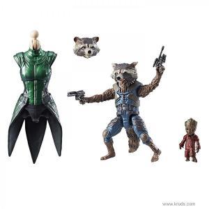 """Фото Реактивный енот / Ракета """"Стражи Галактики"""" - Коллекционная фигурка Marvel Legends Rocket Raccoon"""
