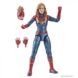 Фото Капитан Марвел (Captain Marvel in Costume) - фигурка Marvel Legends
