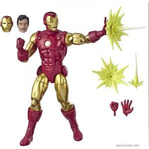 Фото Железный Человек (Vintage Comic-Inspired Iron Man) - фигурка Marvel Legends