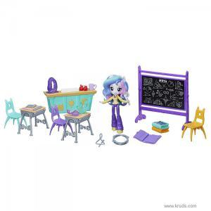 """Фото Мини Кукла Принцесса Селестия и тематический набор """"Уроки смеха"""""""