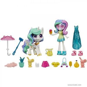 Фото Принцесса Селестия - Набор мини-кукла и фигурка пони с 20 аксессуарами