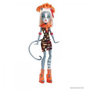 Фото Кукла Мяулодия серия Монстры в отпуске - Монстер Хай