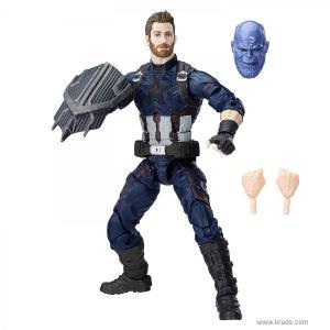 Фото Капитан Америка Marvel Legends - Коллекционная фигурка Мстители: Война Бесконечности