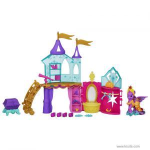 Фото  Кристальный Замок Твайлайт Спаркл - Игровой набор Май Литл Пони ( My Little Pony Crystal Princess Palace Playset Hasbro)