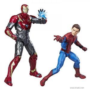 Фото Человек-паук и Железный Человек - Коллекционные фигурки Marvel Legends