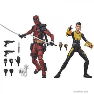 Фото Дэдпул и Сверхзвуковая Боеголовка: люди Х - Deadpool and Negasonic Teenage Warhead Hasbro Marvel Legends Series
