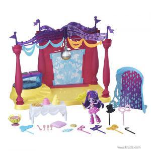 """Фото  Мини-кукла Твайлайт Спаркл и тематический набор """"Школа Кантерлот"""""""