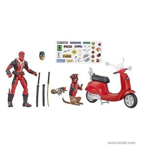 Фото Дэдпул со скутером (Deadpool with Scooter) - Коллекционная фигурка Marvel Legends