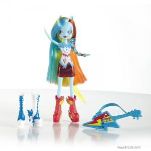 Фото Кукла Рэйнбоу Дэш (Радуга) с гитарой серия Rainbow Rocks - Девушки Эквестрии