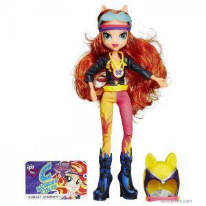 Фото Кукла Сансет Шиммер серия Мотокросс (Friendship Games) - Девушки Эквестрии