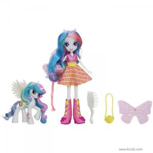 Фото Кукла Селестия и пони - Девушки Эквестрии