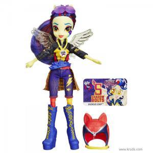 Фото Кукла Индиго Зэп серия Мотокросс (Friendship Games) - Девушки Эквестрии