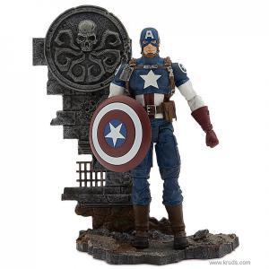 Фото Мстители: Капитан Америка - Коллекционная фигурка (Marvel Select Avenging Captain America)