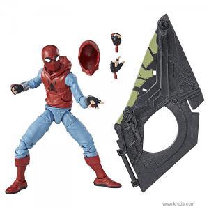 Фото Человек Паук в самодельном костюме - Коллекционная фигурка Marvel Legends Spider-Man: Homecoming