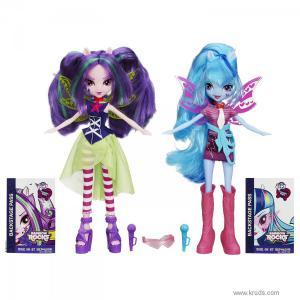 Фото Куклы Соната Даск и Ария Блэйз серия Rainbow Rocks - Девушки Эквестрии