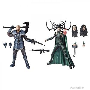 Фото Палач и Хела (Skurge & Hela) Тор: Рагнарёк - Marvel Legends