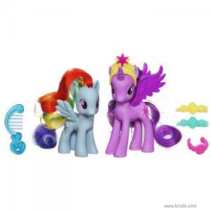Фото Принцесса Твайлайт и Рэйнбоу Дэш набор My Little Pony «Принцессы-пони»