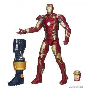 Фото Железный Человек / Тони Старк - Коллекционная фигурка (Marvel Legends Iron Man Mark 43)