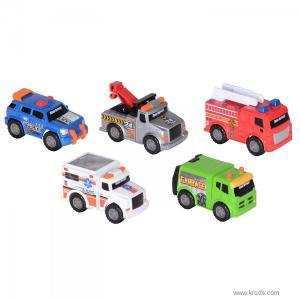 Фото Городской Транспорт - Мини машинки 7,5 см, 5 шт. от Toy State