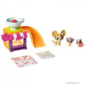 Фото Магазин сладостей серия «Мини-Стиль» - Тематический игровой набор Литл Пет Шоп Hasbro