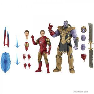 Фото Железный человек Марк 85 и Танос - набор фигурок Marvel Legends Hasbro