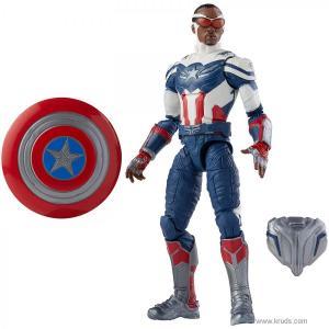Фото Капитан Америка: Сэм Уилсон фигурка Marvel Legends Captain America: Sam Wilson