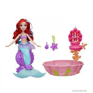 Фото Кукла русалочка Ариэль - Изменение цвета в Спа Салоне (Disney Princess)