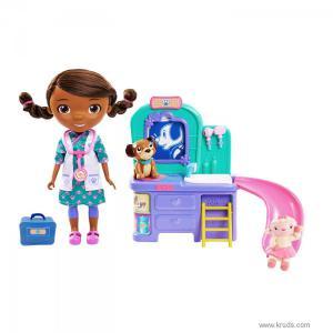 Фото Кукла Доктор Плюшева со столиком - Игровой набор Дисней (Doc Mcstuffins)