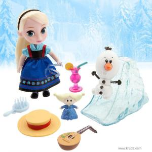 Фото Кукла Эльза серия Мини Аниматор с набором игрушек