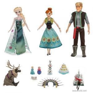 Фото Эльза, Анна и Кристофф - Музыкальный набор кукол Холодное Сердце Frozen Fever Deluxe