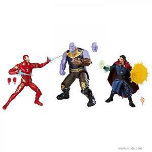 Фото  Железный Человек, Танос, Доктор Стрендж - Набор коллекционных фигурок Marvel Studios: The First Ten Years