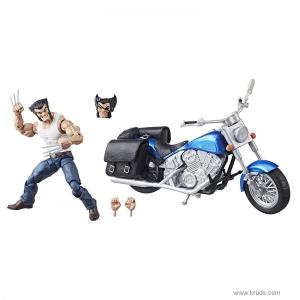 Фото Росомаха и мотоцикл (Wolverine and Motorcycle) - Коллекционный набор Marvel Legends