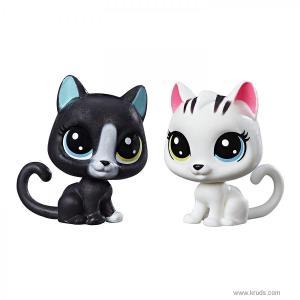 Фото Черный и белый котята Литл Пет Шоп LPS